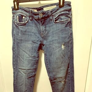 Pilcro Anthropologie Cropped Jeans